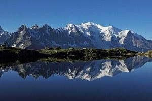 Lac des Cheserys, Mont Blanc